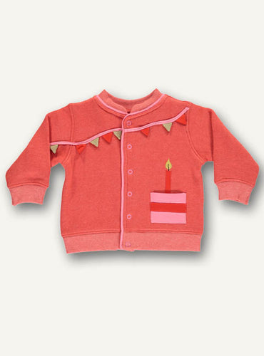 Baby celebration jacket - Dark Peack - STOCK SALE