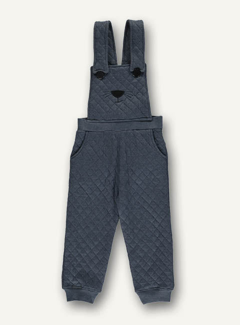 Quilted overall- Dark blue- STOCK SALE