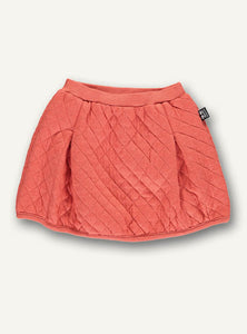 Quilt skirt - warm orange - STOCK SALE