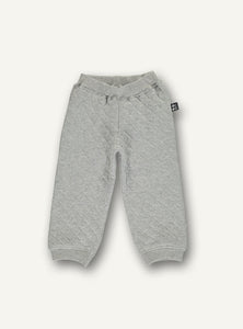 Copy of Quilt baby pants - grey melange - STOCK SALE