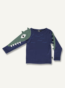Crocodile tee - STOCK SALE