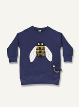 Load image into Gallery viewer, Bumble Bee sweat - dark blue - STOCKSALE