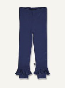 Frill Leggings navy - STOCK SALE