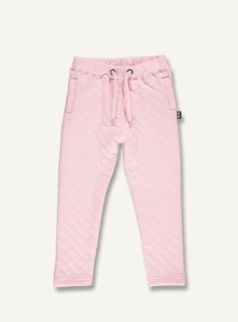 Quilted Pants - Pink - STOCK SALE
