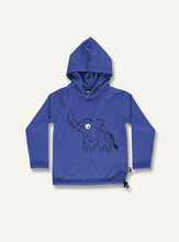 Load image into Gallery viewer, Hooded elephant tee blue - STOCK SALE