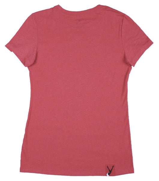 Women's Tonal Scoop Neck Stand Up F'65