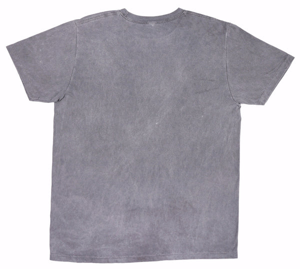 Femlin Men's Distressed Lay Down  Classic Tee  (Custom Dyed Pigment)