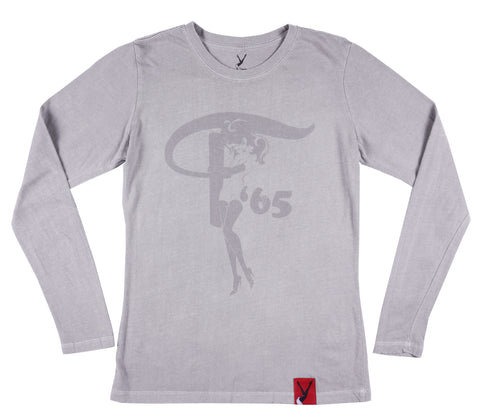 Women's Long Sleeve F'65 Tee
