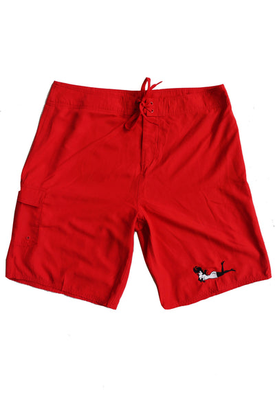 Men's Classic Femlin Embroidered Swim Trunks