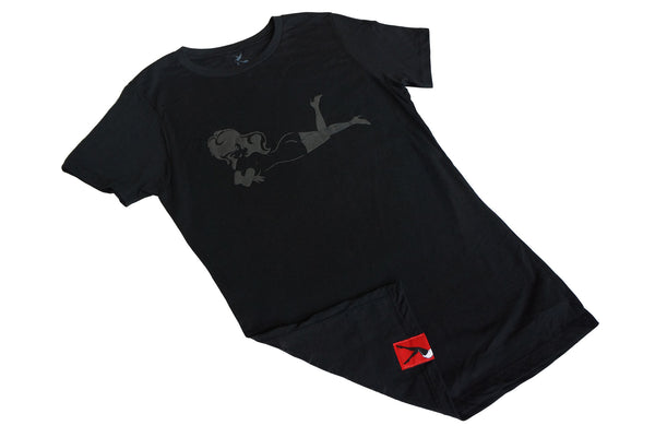 Women's Lay Down HD Crew Tee