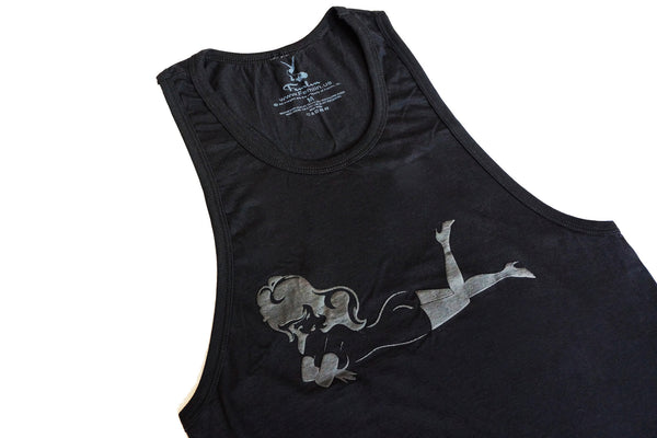 Women's Lay Down HD Tank, Tonal Lay Down