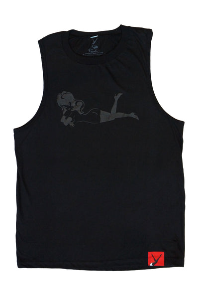 Men's HD Rubberized Lay Down Sleeveless