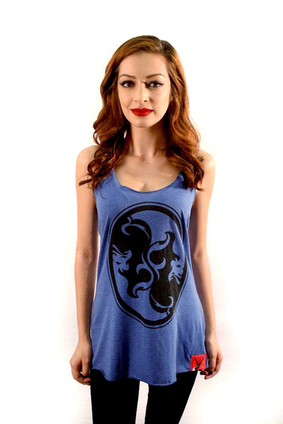 Women's Double Trouble Medallion Tank