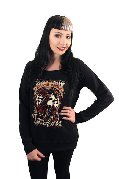Hell on Wheels Sweat Top