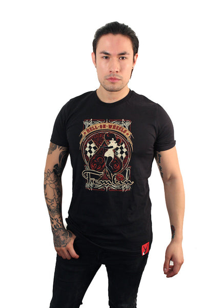 Hell on Wheels Vintage Tee