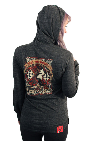 Unisex Hell On Wheels Hooded Tee