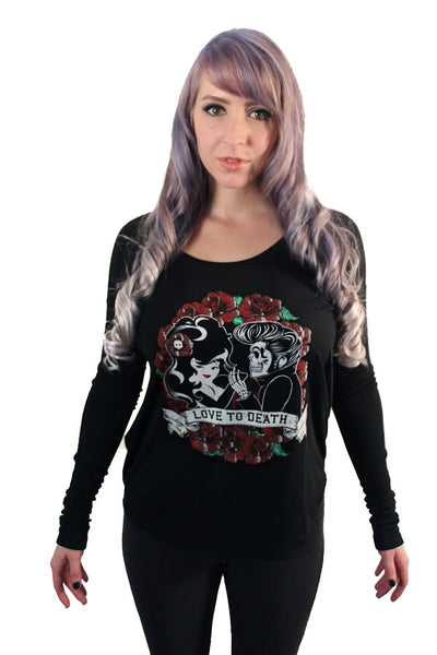 Love to Death Long Sleeve Tee