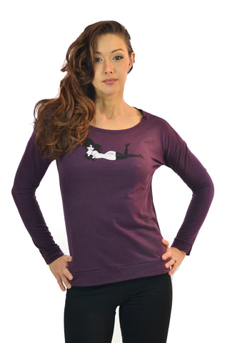 Women's Lay Down French Terry Top