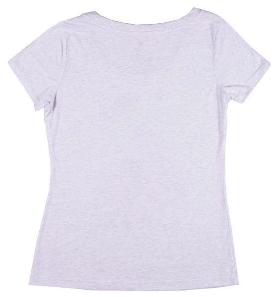 Women's Red Spade Scoop Tee