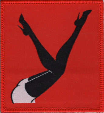 Black Hat w/ Red Femlin Legs in the Air patch