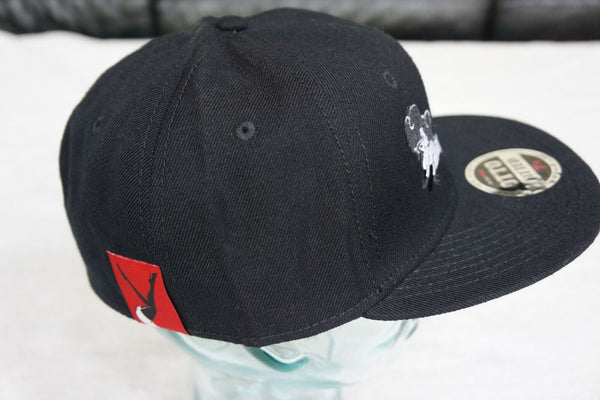 Black Hat w/ Red Lay Down Femlin patch