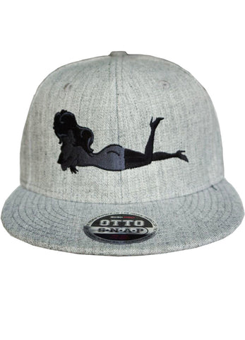 Light Grey Hat w/ White or Grey Femlin