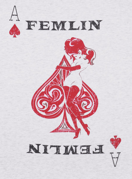 Women's Poker Card Tank