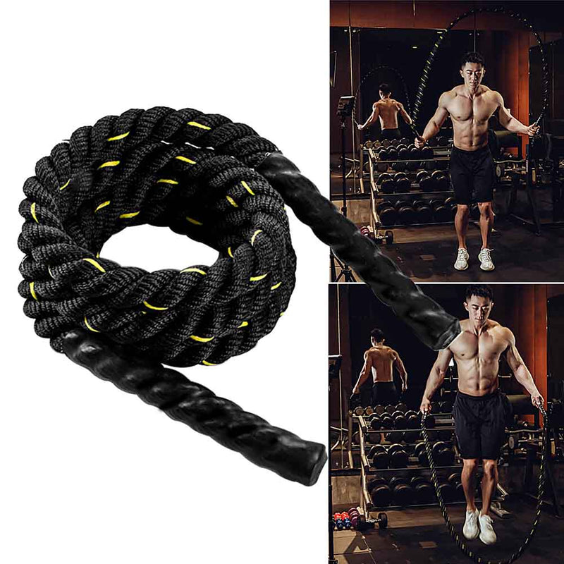 Heavy Weighted Jump Rope Crossfit