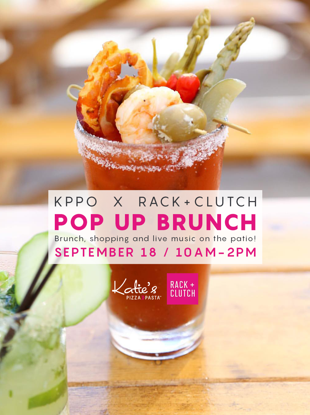 Join Us September 18 for a Special Brunch Event With Rack + Clutch!