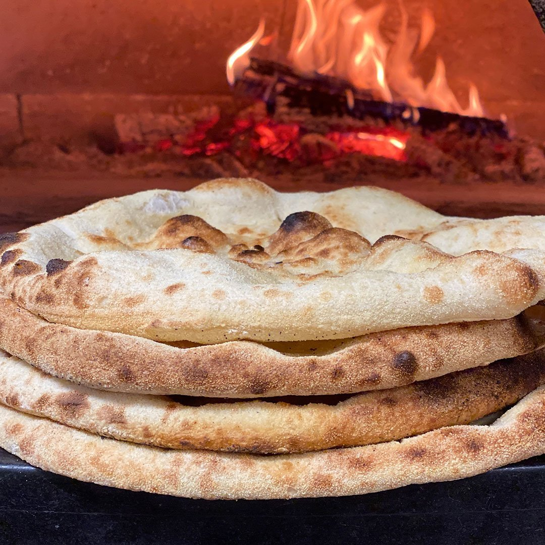 WOOD OVEN PIZZA BIANCO BREAD