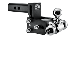 "B&W Hitch Tow & Stow 2"" Receiver Hitch (Black) - TS10047B"