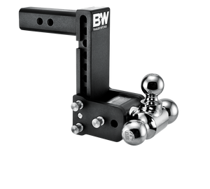 "B&W Hitch Tow & Stow 2"" Receiver Hitch (Black) - TS10049B"