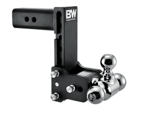 "B&W Hitch Tow & Stow 2-1/2"" Receiver Hitch (Black) - TS20049B"