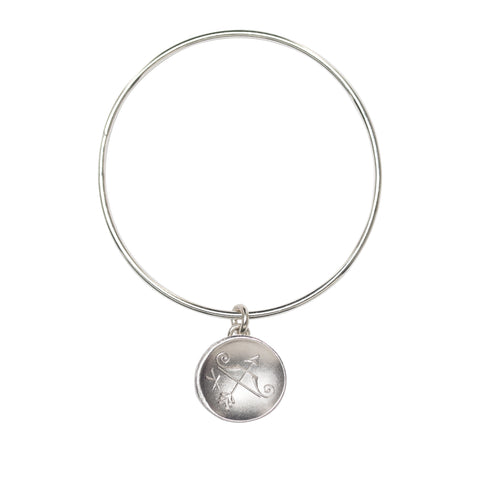 Astro Sagittarius bangle