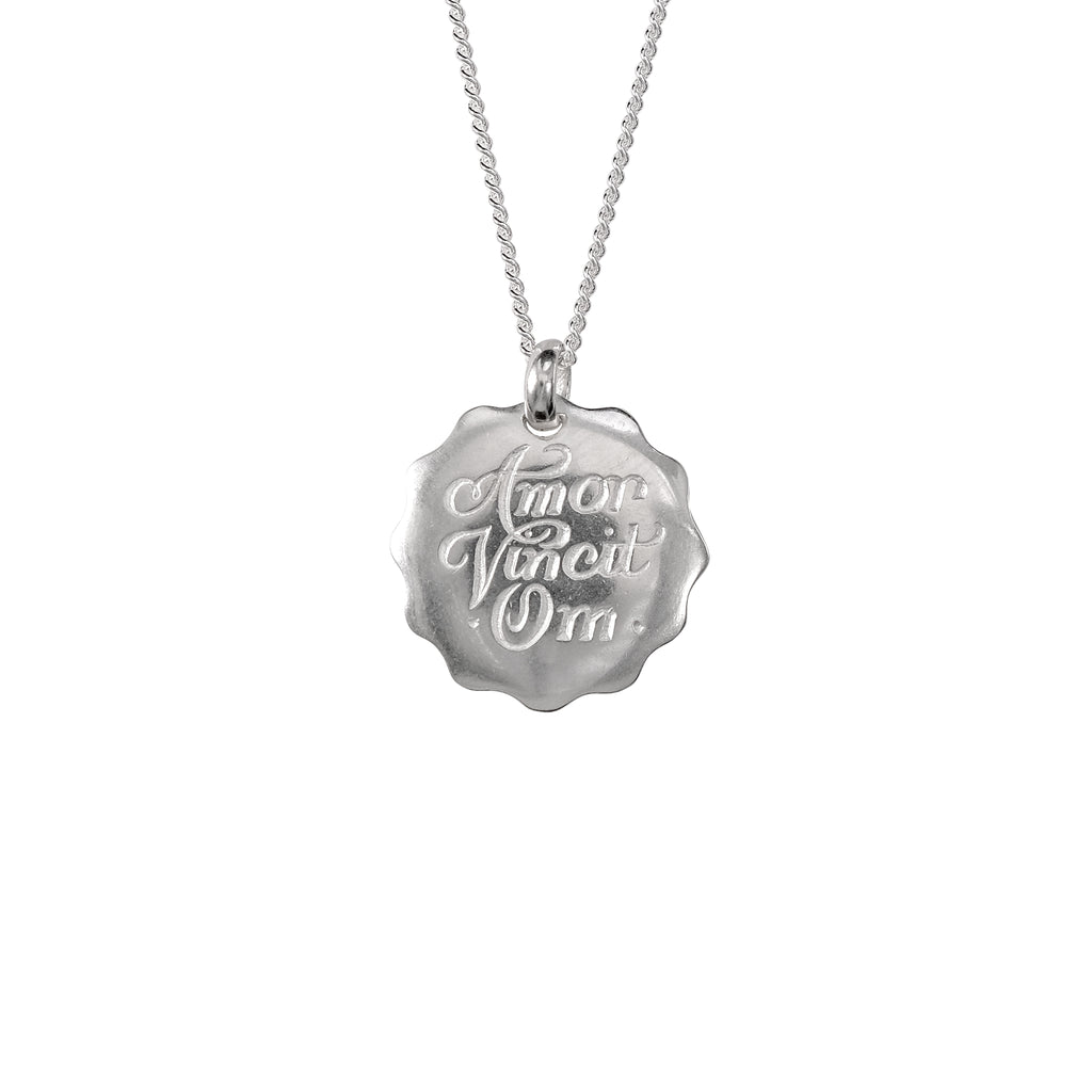 Amor Vincit Om Necklace