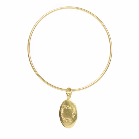 Walk on the Wild Side charm bangle