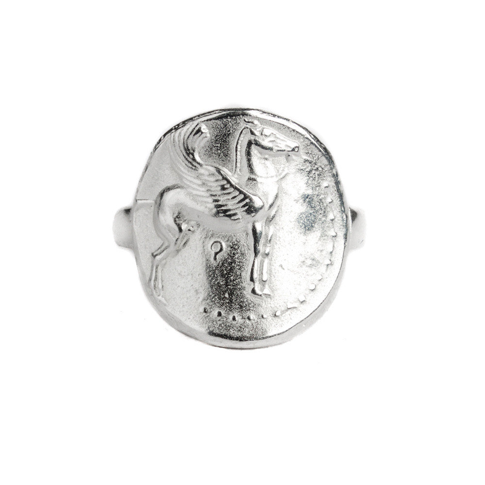Pegasus men's ring