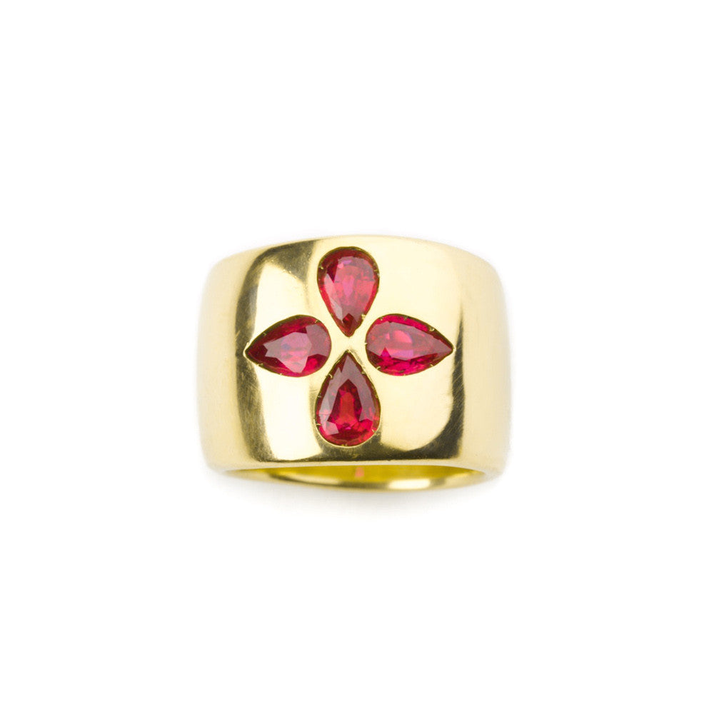 Daedalus ruby ring