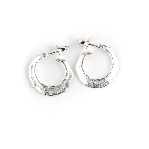 Small Romany hoop earrings