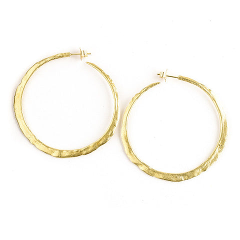 Romany hoop earrings