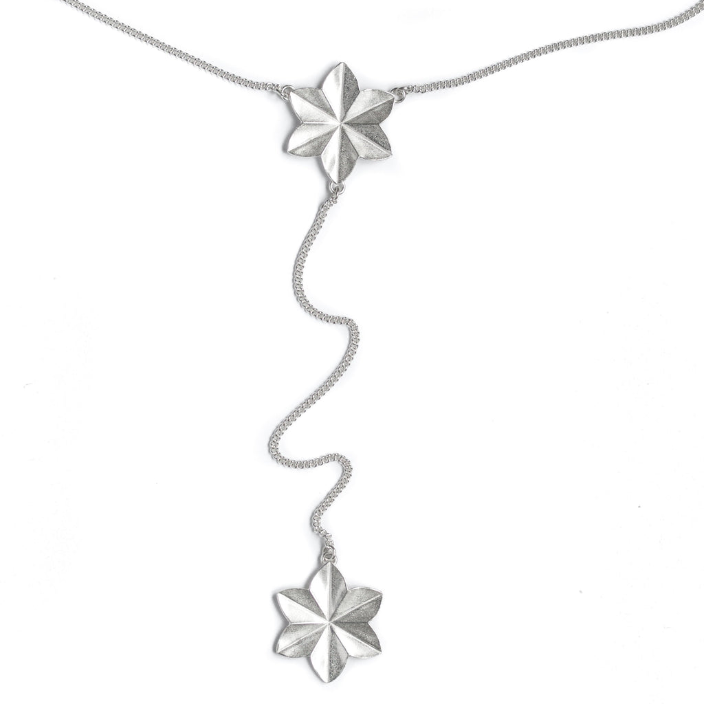 Stella Flower Lariat necklace