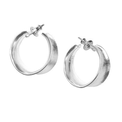 Tango hoop earrings