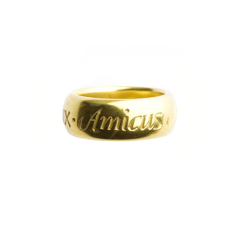 Amicus inscription ring