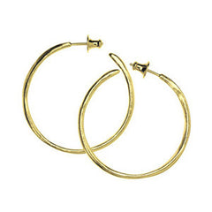 Calypso hoop earrings