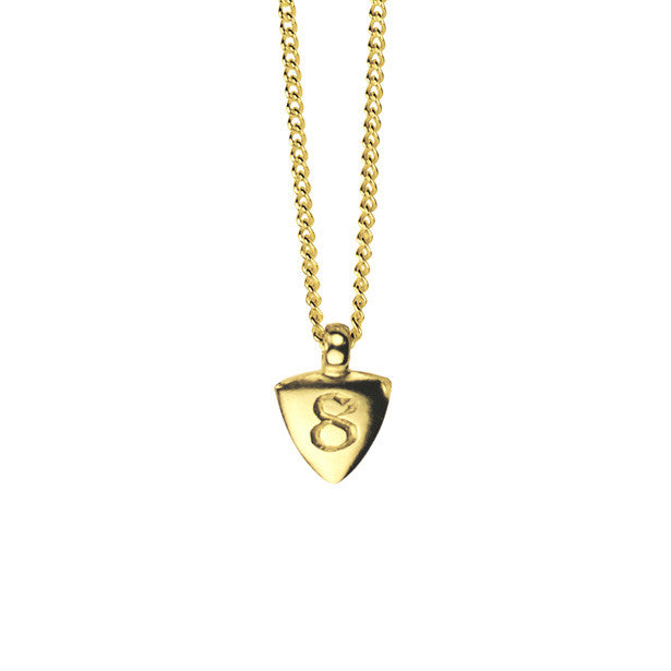 Numero charm necklace