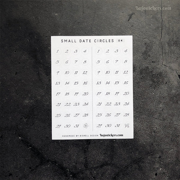 Small Date Circles 04