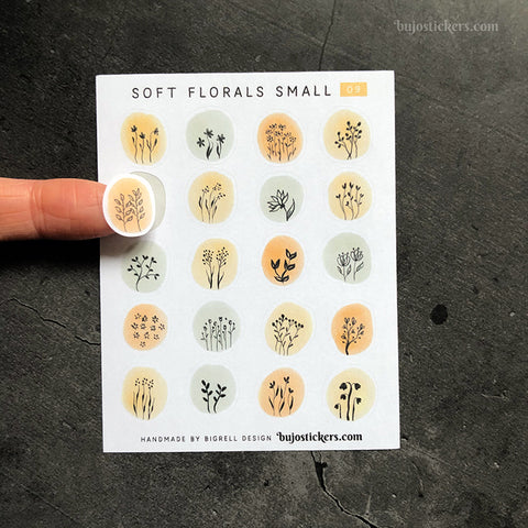Soft florals SMALL 09