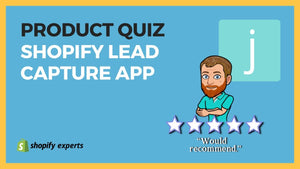 2021 Product Recommendation Quiz for Shopify