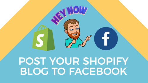 How to automatically post your shopify blog to facebook