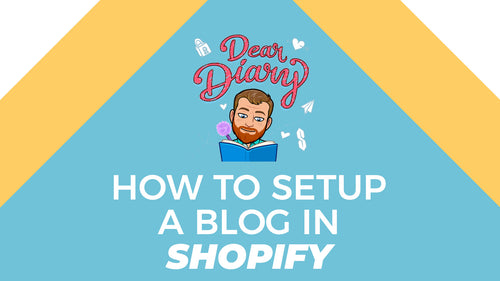How to Set Up a Blog in Shopify